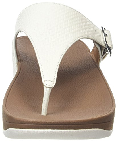 Fitflop the Skinny, Chanclas para Mujer Blanco (Urban White)