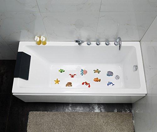 10pcs Non-slip Bathtub Appliques Whale Stickers Bath Tub Shower Tile Decals