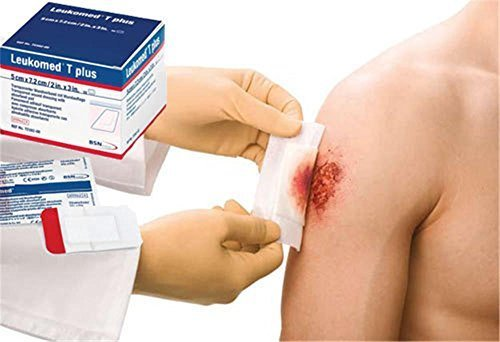 BSN Leukomed Non-Woven Wound Dressing, 7.2cm x 5cm, Pack of 50 by BSN Medical by BSN Medical (Image #1)