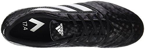 adidas Herren Ace 17.4 FxG Fußballschuhe Schwarz (Cblack/ftwwht/ngtmet)