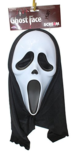 Panda House Ghost Face Scream Costume Mask]()