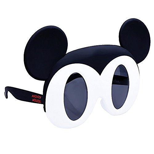 Sunstaches Disney Mickey Mouse Character Sunglasses, Instant Costume, Party Favors, UV400 for $<!--$16.09-->