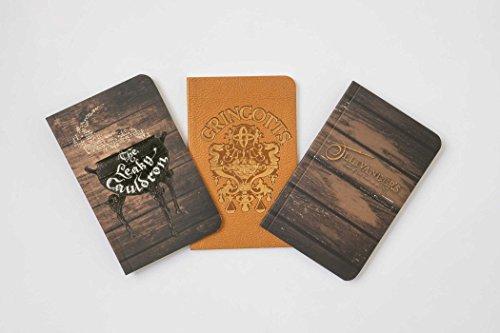 Best! Harry Potter: Diagon Alley Pocket Notebook Collection (Set of 3) E.P.U.B
