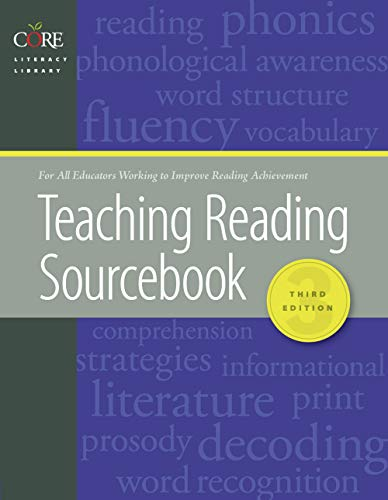 Teaching Reading Sourcebook 3rd Edition 2018