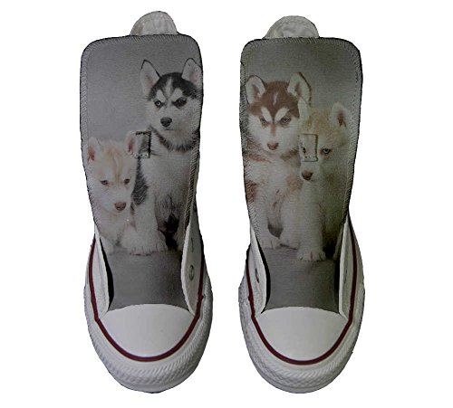 Schuhe Puppies Hi Customized Converse Star All Handwerk Husk Schuhe personalisierte pqpST8nx