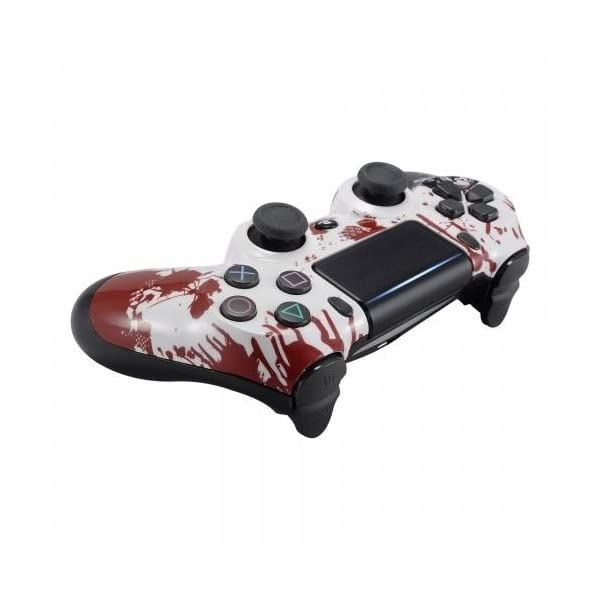Zombie PS4 PRO Rapid Fire Custom Modded Controller 40 Mods for All Shooter Games, Auto Aim, Quick Scope Sniper Breath (CUH-ZCT2U) 4