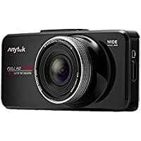 Dashboard Camera Recorder, ANYTEK Car Dash Cam Full HD 1080P 150 Wide Angle On-dash Video with G-Sensor WDR Night Mode, Night Vision, WDR, 2.7 Screen, Loop Recording (Micro SD Card Not Included)