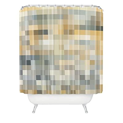 """Deny Designs Madart Inc. Desert Sand Shower Curtain, 69"""" x 72"""" - Item proudly made in Denver, Colorado This product is highly susceptible to counterfeiting. Please make sure you are purchasing anauthentic Deny Design item by ensuring you are ordering an item sold and fulfilled by Amazon or Deny Designs. Shower curtain liner not included with purchase but recommended for use - shower-curtains, bathroom-linens, bathroom - 411bO3HWOgL. SS400  -"""