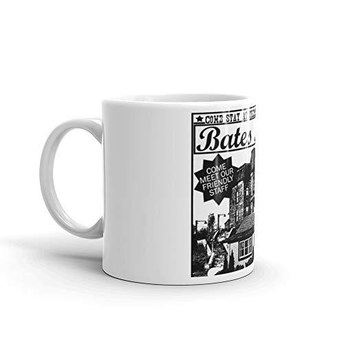 Norman Bates Quotes (Bates Motel - Black Type 11 Oz White)