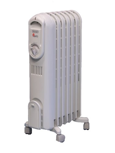 DeLonghi TRVO715 Vento Hi-Speed Convection Oil-Filled Radiator Heater Oil Filled Heaters