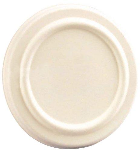 Sugarcane Lid (Case of 500), PacknWood - Disposable Dish/Bowl Cover for (210GPU350 & 210GPU500) Sugarcane Food Containers (4.3