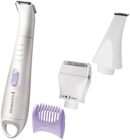 Remington WPG4030 - Afeitadora eléctrica para mujer, con cabezales intercambiables, color blanco: Amazon.es: Salud y cuidado personal