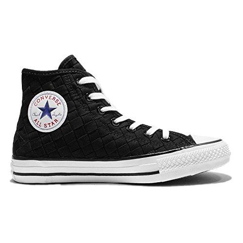 CONVERSE All Star Chucks Hi Woven - black - Gr. 36 / US 3,5 - 151234C