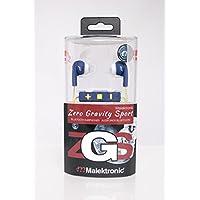 Malektronic Zero Gravity Sport Bluetooth Earphones with Reflective Wire