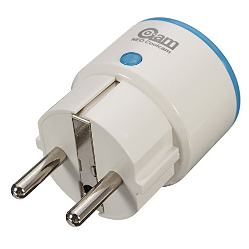 NEO COOLCAM EU Smart Power Plug Socket Supply Home Safety for Z-Wave 300 500 Series