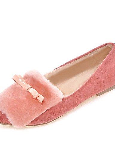 y ZQ 5 Rosa pink Bailarinas eu42 5 Casual Confort Trabajo us8 pink cn43 5 uk8 5 Vell¨®n Bailarina Vestido us10 Negro us10 pink eu42 Puntiagudos Mujer 5 Tac¨®n cn40 Oficina uk6 eu39 Plano cn43 uk8 5 rYU6Zr8S
