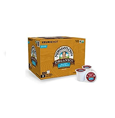 Newman's Own Organics Special Blend Coffee K-Cups (100 K-Cups)