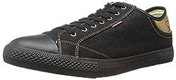 Levis Men's Stan Buck Denim Fashion Sneaker, Indigo, 10.5 M US