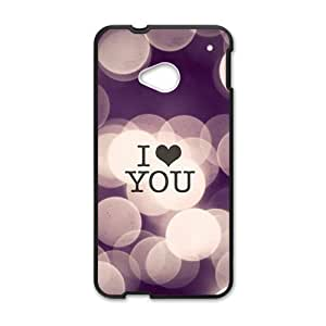 I love you personalized high quality cell phone case for HTC M7