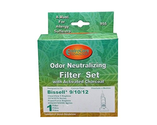 - Bissell #32065 #32064 Style9/10/12 Pleated Filter Cartridge and washable Foam Filter
