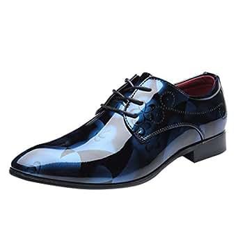 Amazon.com: QBQCBB Zapatos de vestir para hombre ...