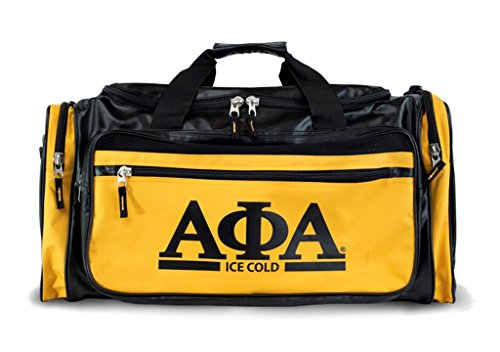 Alpha Phi Alpha Fraternity Men's New Duffel Bag Black