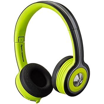 Monster iSport Freedom Wireless Bluetooth On-Ear Headphones - Green