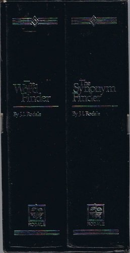 The Word Finder/The Synonym Finder 2-book set w/Slipcase
