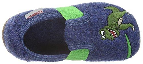 Giesswein Weißenhorn - Zapatilla de estar Por casa Niños Azul - Blau (527 Jeans)