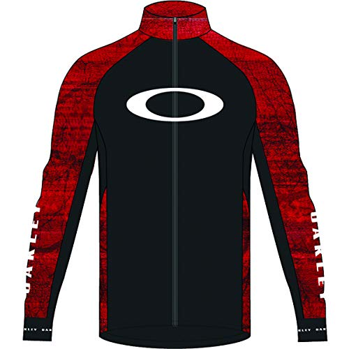 Oakley Aero Men's MTB Cycling Jackets - Fired Forest/Large (Oakley Bicycle)