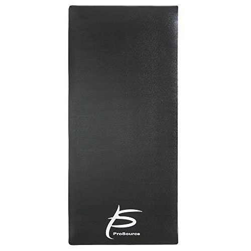 ProSource Exercise Equipment & Treadmill Mat High Density PVC Floor Protector, 3 x 6.5 feet