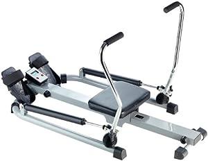 PEARL sports Rudergerät mit Schlagzähler Trainingscomputer