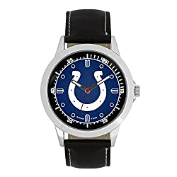 NFL Indianapolis Colts Mens Player Series Wrist Watch, Silver, One Size