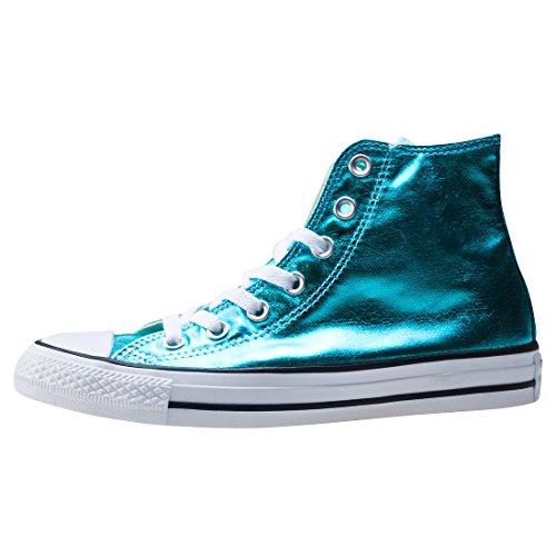Converse All Star Metallic Hi Top Boots (Fresh Cyan) Fresh Cyan