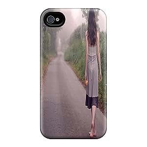 New Arrival MpbCo3436swdJE Premium Iphone 4/4s Case(im Not Alone)