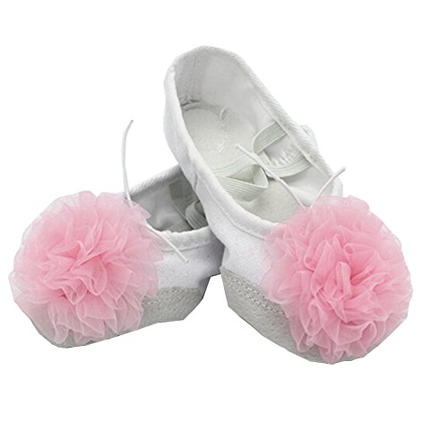 lisianthus002Little Kid Ballett Blume Schuhe Split Sole B