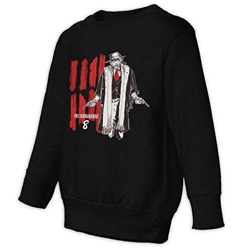 (Xgbb a Bounty Hunter Mystery Film Toddler Long Sleeve Pullover Sweatshirt Little Boys' Sweatshirt Black)