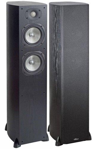 Athena LS-500B Floorstanding Speaker, Single (Black Ash)