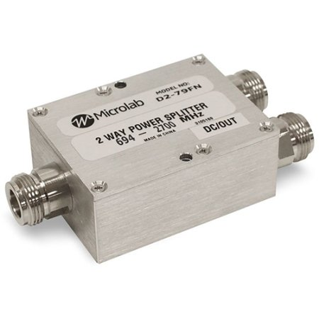 Microlab / FXR - D2-41FN - 138-960 MHz 2-Way Power Splitter. by Microlab/FXR (Image #1)