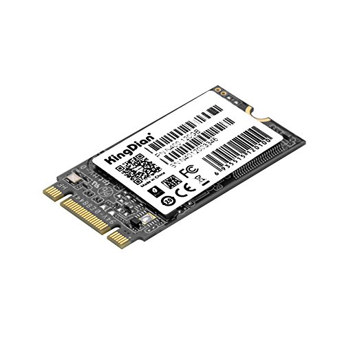 KingDian M.2 NGFF M.2 2242 2280 Solid State Drive Disk for Desktop PCs and MacPro (N400 120GB42mm) by KINGDIAN