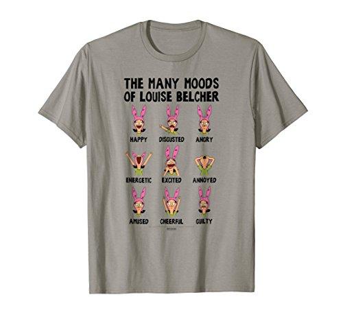 Bob's Burgers Many Moods Of Louise Belcher T-shirt]()