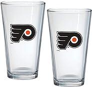 Philadelphia Flyers 16oz NHL Mixing Glass Box Set (2-Pack)