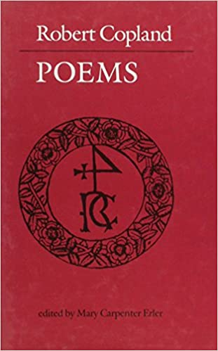 Robert Copland: Poems
