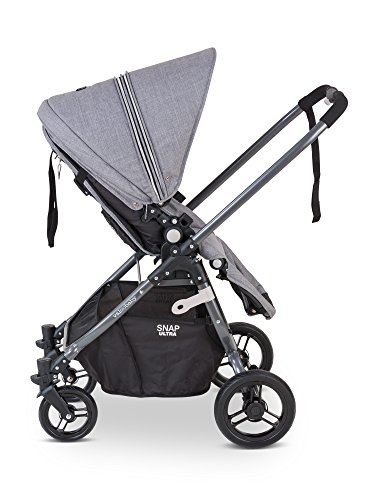 valco baby snap ultra lightweight reversible stroller  grey marle