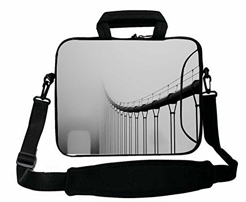 Cool Print Custom ( Nature fishing Crab Winter snow ) Laptop Bag Good For Women's (15