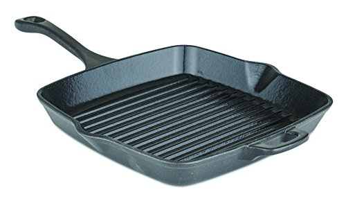 Viking Enamel Cast Iron Square Grill Pan, 11 Inch by Viking Culinary
