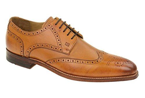 Gordon & Bros Milan 4371 Herren Businessschuhe, Schnürhalbschuhe, Anzugsschuhe, Derby Goodyear Leder
