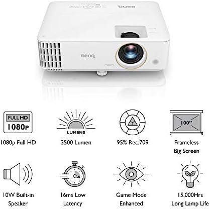Benq Th585 1080p Dlp Gaming Projektor 3 500 Lumen Elektronik