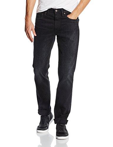 Levi's 511 Slim Fit - Jeans para Hombre Negro (Nano Black)
