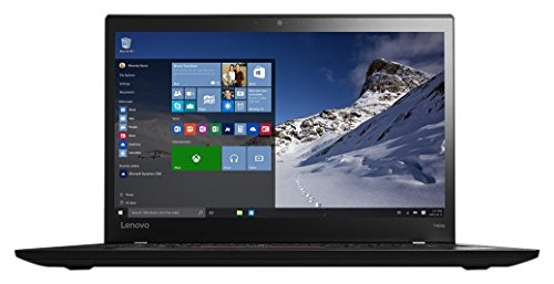 Lenovo Thinkpad T460s Business-Class Ultrabook 20FAS1AD00 (14' FHD Display, i5-6300U 2.4GHz, 8GB RAM, 256GB SSD, Finger Print Reader, Webcam, Windows 7 Pro 64)